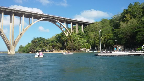Depart hotels and speedboating on the Rio Canimar